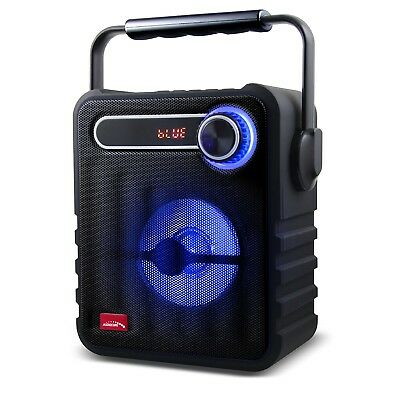 Portable Bluetooth Speaker Wireless BoomBox USB AUX 1200mAh 75W PMPO MicroSD
