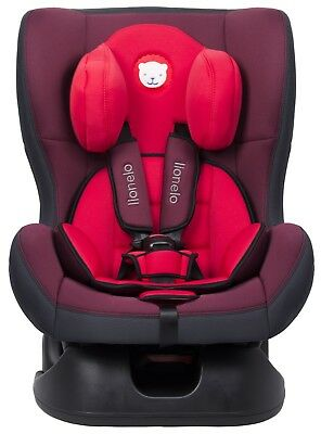Baby Car Seat Toddler High Chair Vehicle 0-18 kg Red Group 1-4 UK Seller