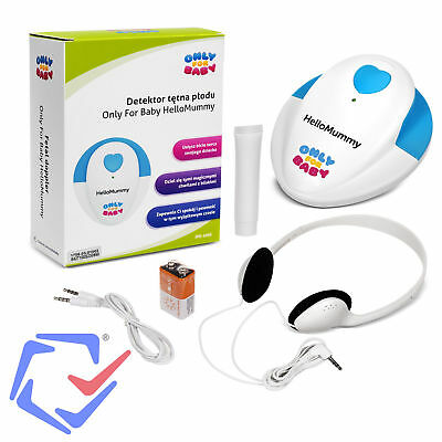 Only for Baby Home Mummy Fetal Doppler Heart Rate Detector ≥90dB PC Compatible