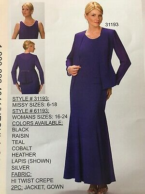 87684a1769d URSULA MOTHER OF The Bride Dress Size 26 Heather Dress With Jacket ...