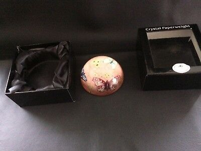 Crystal Paperweight Lenardo Collection Boxed