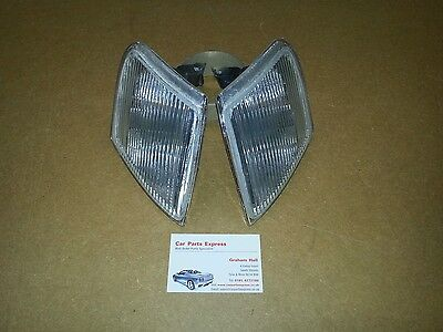 Ford Escort XR3i MK5 Front side position lamps NEW PAIR