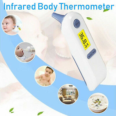 Digital LCD Multifunktions-Thermometer Ohrthermometer Fieberthermometer Für Baby