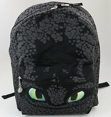 NEW Universal Dreamworks How To Train Your Dragon 3 Toothless Backpack