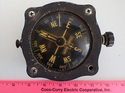 Vintage Marine Ships Compass Nautical Boat ANTIQUE ORIGINAL - FOR CHARITY