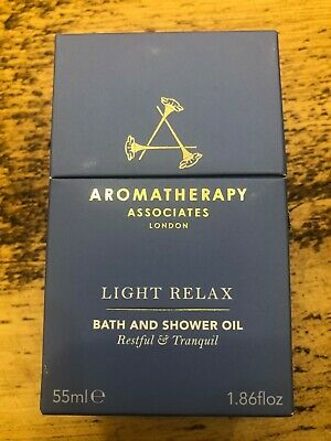 Aromatherapy Associates Light Relax Bath and Shower Oil 55ml Brand New & Sealed