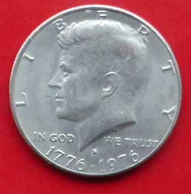 A 1976 Half Dollar Coin From The United States Of America.