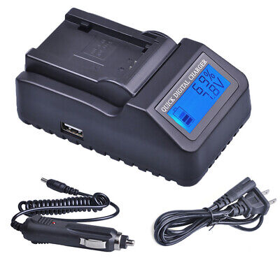 LCD Quick Battery Charger For Canon EOS Rebel T2i,T3i,T4i,T5i Digital SLR Camera