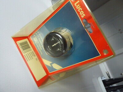 Lucas Aftermarket 12V Ammeter Sib320 With Fitting Instructions - New Old Stock