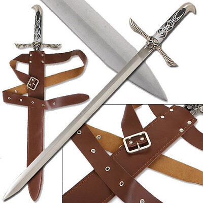 """ALTAIR ASSASSIN/'S CREED 23/"""" STAINLESS STEEL MAJESTIC SWORD AND SHEATH"""