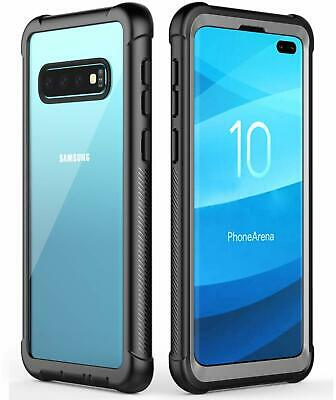 Samsung Galaxy S10Plus S10 S10e Case Rugged Bumper Heavy Duty Shockproof Cover