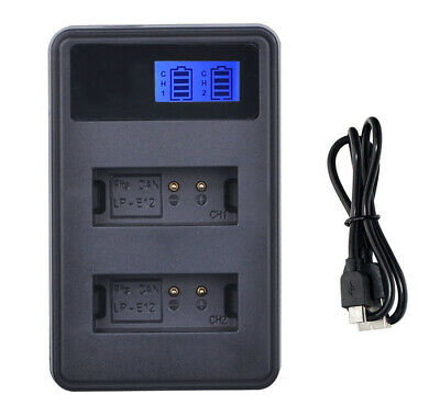 Battery Charger For Canon EOS 1100D, EOS 1200D, 1300D, 1500D Digital SLR Camera