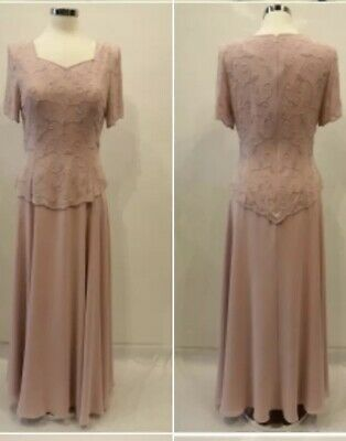 Mother Of The Bride Dress Nightscene Et5722 Dusty Rose 3xl