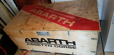 Abarth Wooden Chest/ Crate