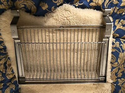 IKEA Hanging Dish Drying Rack Drainer KitchenDryer Stainless Steel Small