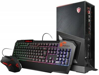 MSI Trident 3 8RC-005US Mini Desktop Gaming Computer PC With Keyboard Mouse NEW