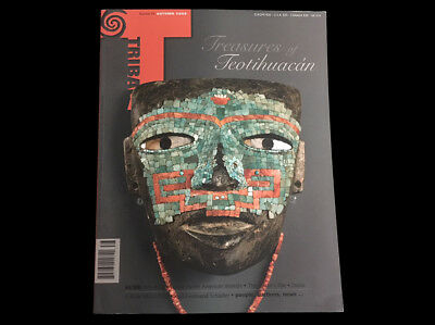 Tribal Art Magazine Autumn 2009  Teotihuacan  Indian Baskets  Pacific Shields