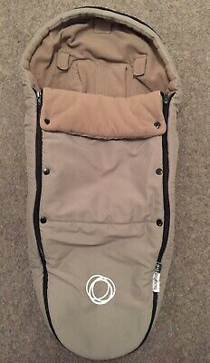 Bugaboo Bee Cosytoes Cocoon Footmuff Cosytoes Taupe/Black AM