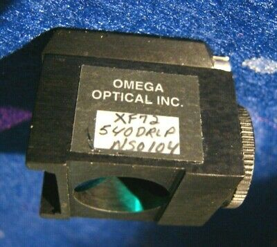 Fluorescence Cube XF72 - Omega Optical - 540DRLP Dichroic, 510DF23 Filter