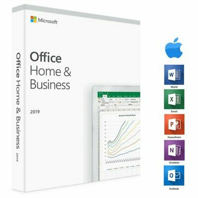 Mac 2019 MS Office Home & Business - fast delivery (1 MAC)