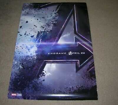 Marvel AVENGERS Endgame Disney Original Movie Poster 27 x 40