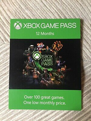 XBOX Game Pass 12 Month Digital Code (Fast Dispatch)
