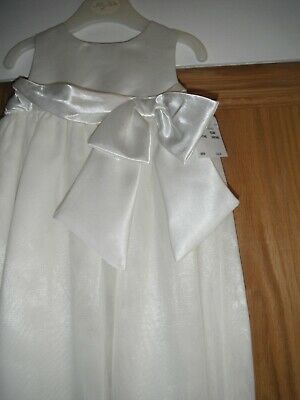 Baby Lily Rio Girls Christening Gown Outfit Ivory 3-6 Month Full Length
