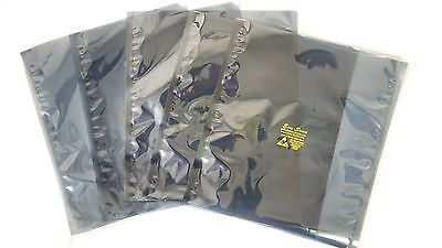 "1000 ESD Anti-Static Shielding Bags,Metal In, 4""x4"",Open-Top,3.1 mils"