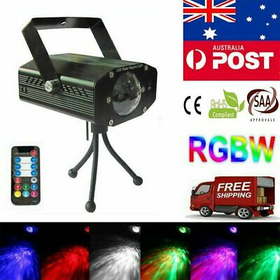 Mini LED RGB Laser Projector Stage Lights Lighting Xmas Party DJ Disco KTV