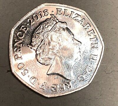Rare 50p Coin UK – Representation of the People Act 2018 –Circulated