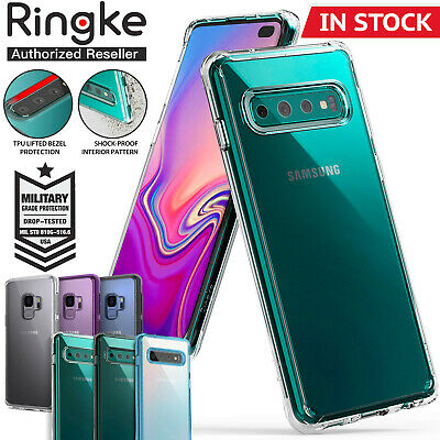 Galaxy S10 5G S9 S8 Plus S10e Case Genuine RINGKE FUSION Clear Cover For Samsung