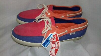 VANS 'Off The Wall' Side Surfer Trainers Tri Tone Mens Size US9 UK7 EU40