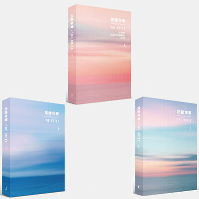 BTS 花樣年華 The NOTES 1[E,J,K 3 Book Set] + Special Note +gift