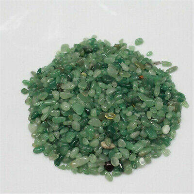 Green aventurine jade Ore Crushed Gravel Stone Chunk Lots Degaussing fengshui