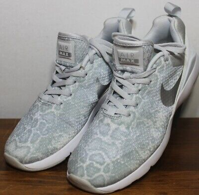 classic fit 6351b 83f05 Nike Air Max Siren Gray Platinum Python Womens Running Athletic Shoes 7.5