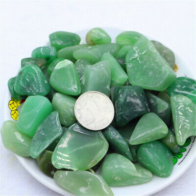 Green Aventurine Ore Crushed Gravel Stone Chunk Lots Degaussing Discover natural