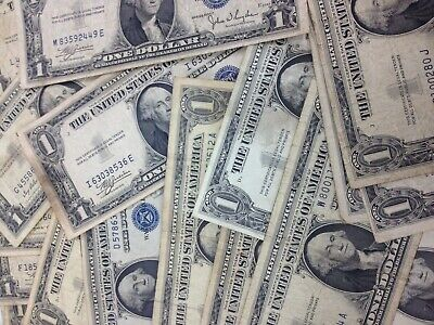 BULK Lot 25 - 1957 $1.00 Dollar US Note Silver Certificate Collection $1