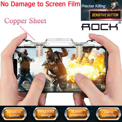 PUBG Mobile Cell Phone Game Controller Fire Button Key Gamepad Shooter Trigger %