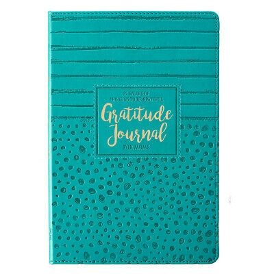 Gratitude Journal for MOMs Lux-Leather, 52 Weeks of Choosing to Be Grateful