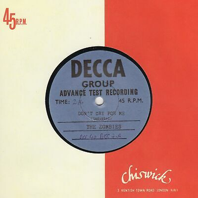 Zombies Don't Cry For Me Decca/chiswick Soul Northern Reggae