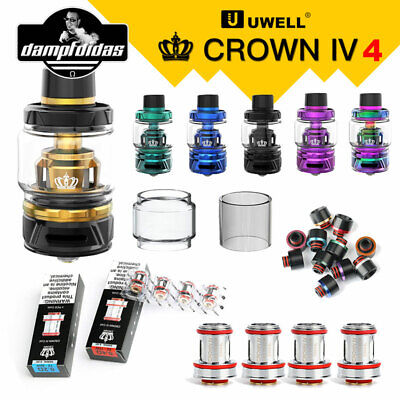 Uwell Crown4(IV)  Clearomizer Verdampfer E-Zigarette 5ml/6ml E-Shisha ORIGINAL
