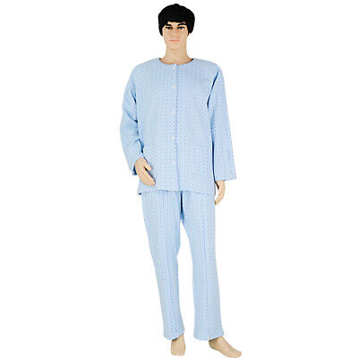 Detachable Patient Pajamas Home Care Suit Clothing Sleepwear for Hospital