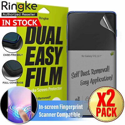 Galaxy S10 S10e S10+ Plus RINGKE Soft Full Cover Screen protector For Samsung