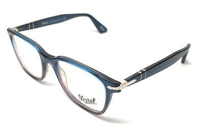 65dc514cfceb NEW PERSOL 3119-V 1010 Blue Gradient Eyeglasses Authentic Frame 53 ...