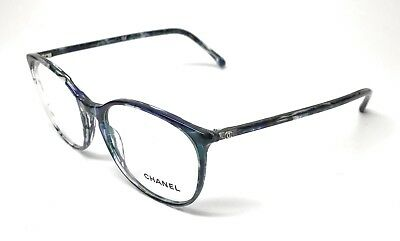 053221f7bd9 NEW CHANEL 3282 1490 Blue Gradient Authentic Eyeglasses Frame 54-18 ...