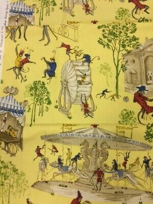Brunschwig & Fils Fabric Tribute To John S Churchill - Monkey Mayhem