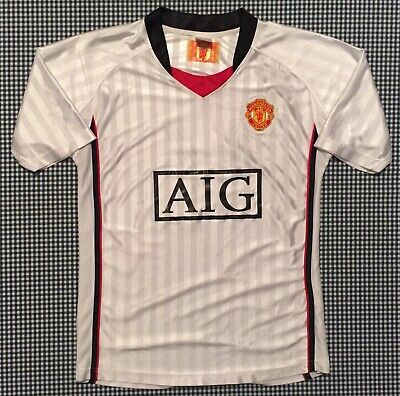 f56a494a526 Manchester United Team Jersey Size XL White The Red Devils ManU Pogba DeGea