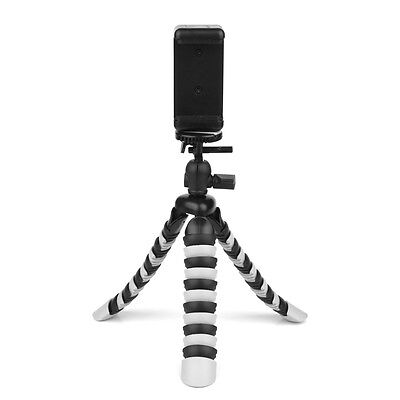 Mini Octopus Tripod Stand with Phone Clip for GoPro Camcorder DSL