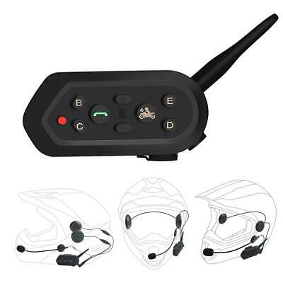 1200m Bluetooth Motorrad Biker Interphone Helm Intercom Sprech Headset