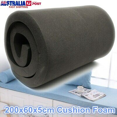 200x60x5cm High Density Seat Foam Cushion Sheets Replacement Upholstery Pads